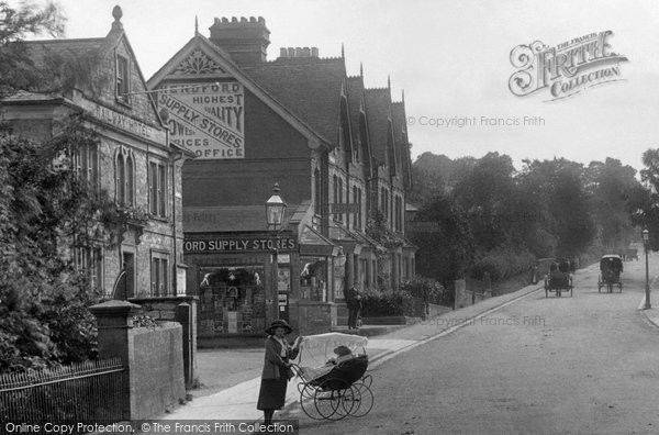 Photo of Yeovil, Hendford Hill 1912