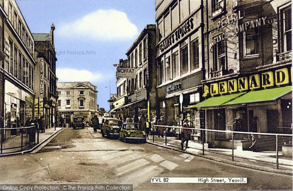 Photo of Yeovil, High Street c.1965