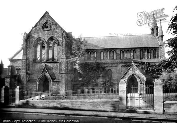 Photo of Yeovil, Holy Trinity Church, North Side 1900