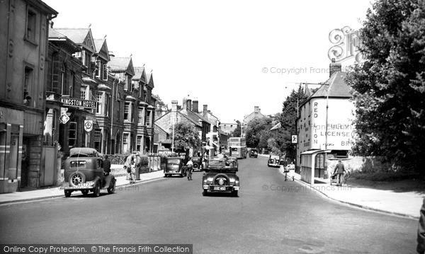 Photo of Yeovil, Kingston Road c.1950