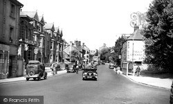 Yeovil, Kingston Road c.1950