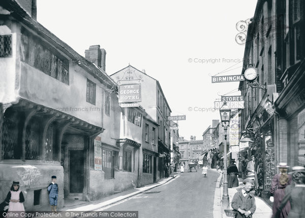 Photo of Yeovil, Middle Street 1900
