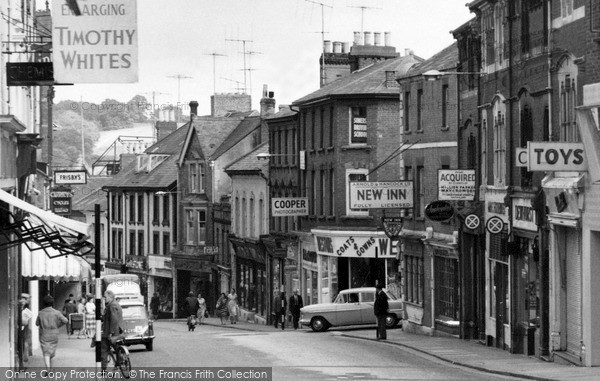 Photo of Yeovil, Middle Street 1961
