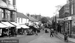 Yeovil, Middle Street c.1955