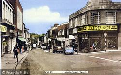 Yeovil, Middle Street c.1965