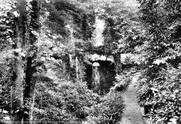 Photo of Yeovil, Nine Springs, Lower Waterfall 1912