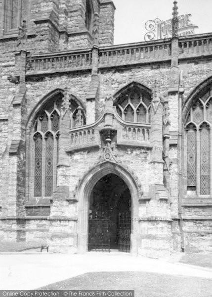 Photo of Yeovil, Parish Church c.1965