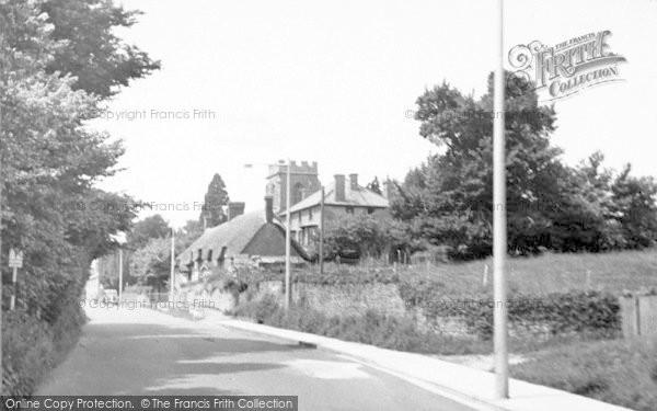 Photo of Yeovil, Preston Church c.1955