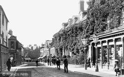 Yeovil, Princes Street 1900