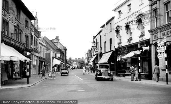 Photo of Yeovil, Princes Street c1950