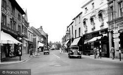 Yeovil, Princes Street c.1950