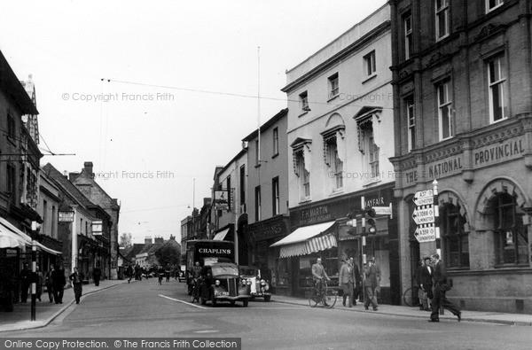 Photo of Yeovil, Princes Street c.1955