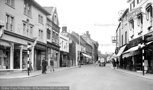Photo of Yeovil, Princes Street c.1955