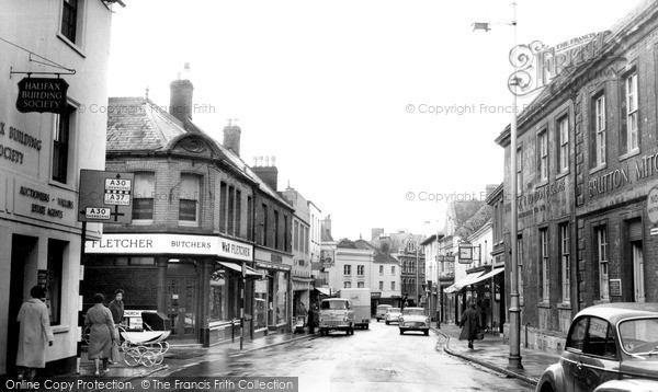 Photo of Yeovil, Princes Street c.1960