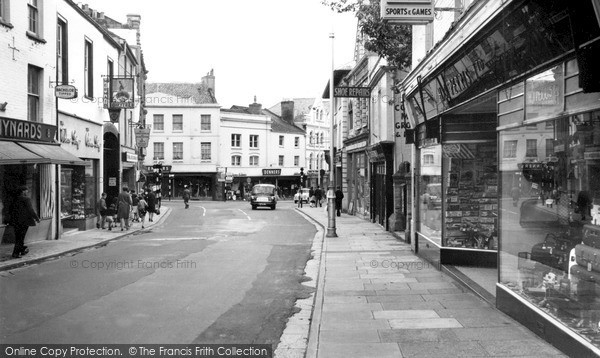 Photo of Yeovil, Princes Street c.1965