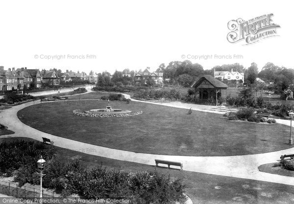 Photo of Yeovil, Sidney Gardens 1900
