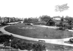 Yeovil, Sidney Gardens 1900