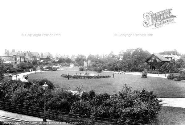 Photo of Yeovil, Sidney Gardens 1906