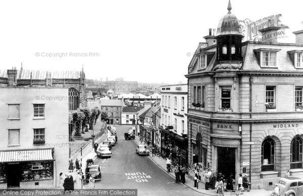 Photo of Yeovil, Silver Street c.1965