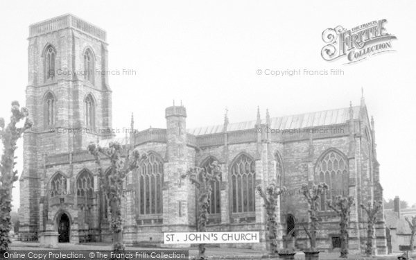 Photo of Yeovil, St John's Church c.1960