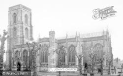 Yeovil, St John's Church c.1960