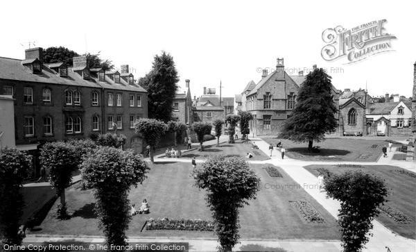 Photo of Yeovil, St John's Churchyard c.1965