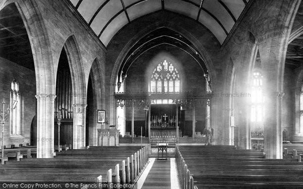 Photo of Yeovil, St Michael's Church Interior 1900
