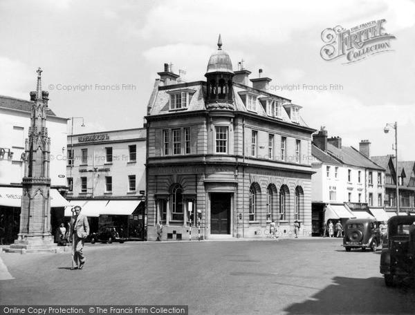 Photo of Yeovil, The Borough c.1955