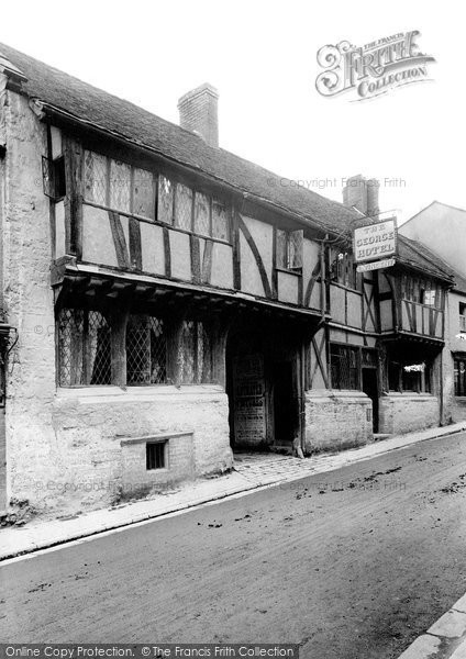 Photo of Yeovil, The George Hotel 1912