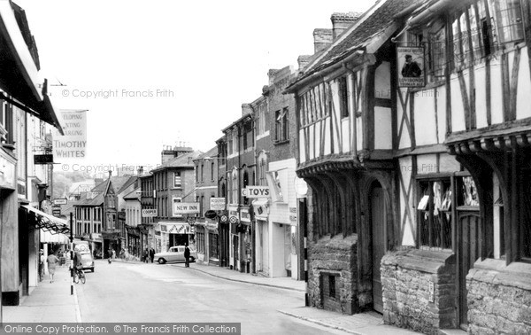 Photo of Yeovil, The George Hotel And Middle Street c.1960