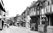 Yeovil, the George Hotel and Middle Street c1960