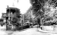 Yeovil, the Hospital 1912