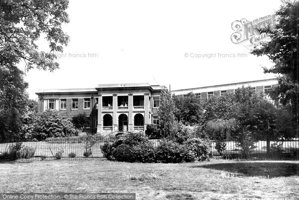 Photo of Yeovil, the Hospital c1955