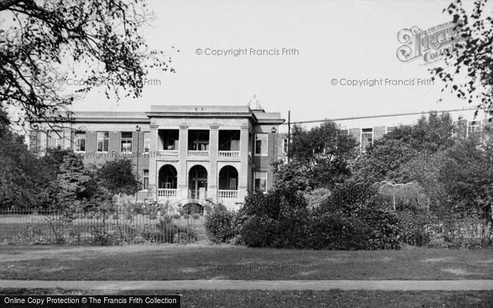 Photo of Yeovil, The Hospital c.1955