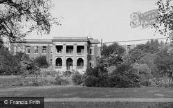 Yeovil, The Hospital c.1955