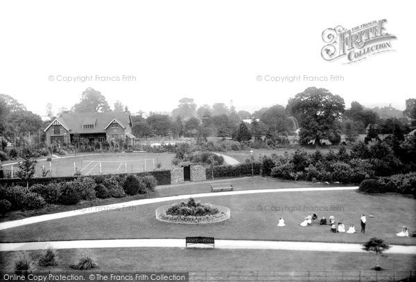 Photo of Yeovil, The Park 1906