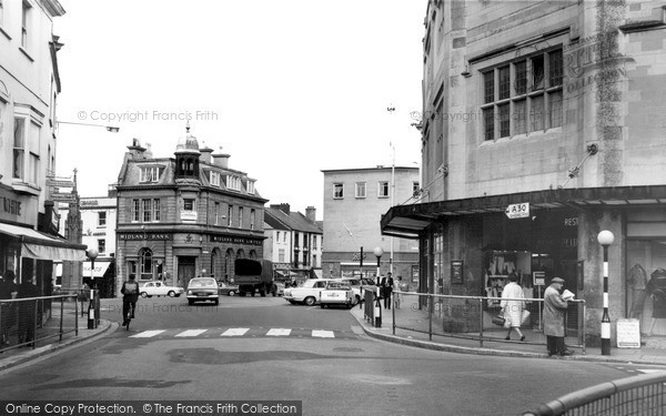 Photo of Yeovil, The Square c.1965