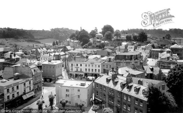 Photo of Yeovil, The View From St John's Church Tower c.1965