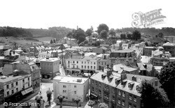 Yeovil, The View From St John's Church Tower c.1965