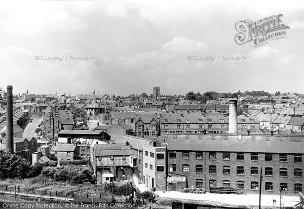 Photo of Yeovil, View From Summerhouse Hill c.1955