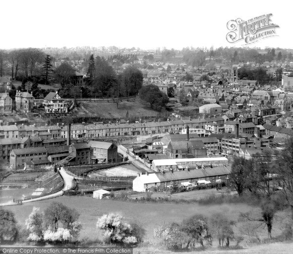 Photo of Yeovil, View From The South c.1950