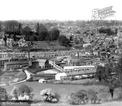 Yeovil, View From The South c.1950