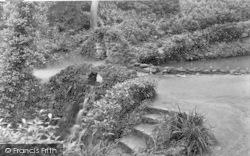 Yeovil, View In Nine Springs c.1955