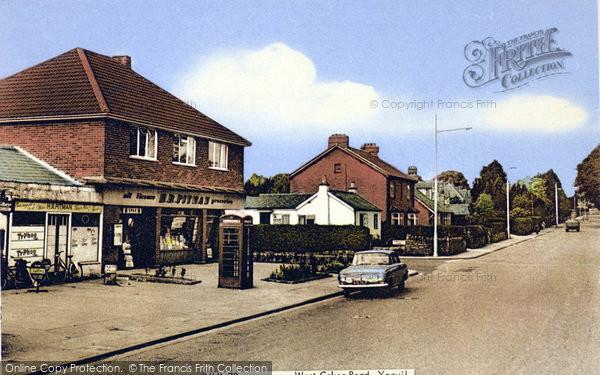 Photo of Yeovil, West Coker Road c.1960