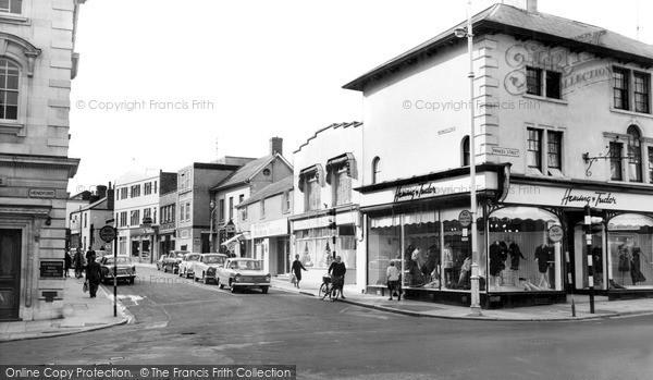 Photo of Yeovil, Westminster Street c.1965