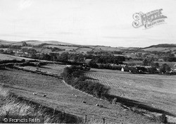 Yetholm, And Kirk Yetholm Villages 1955