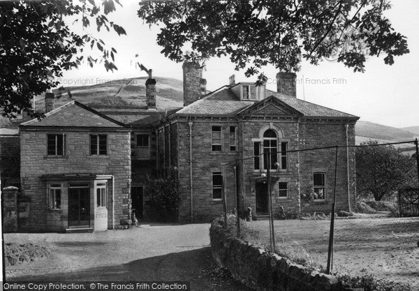 Photo of Town Yetholm, Romany House Hotel c1955, ref. Y26009