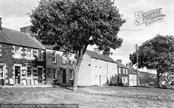 Photo of Town Yetholm, the Crescent c1955, ref. Y26003