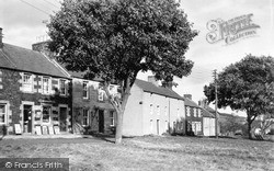 Yetholm, The Crescent c.1955, Town Yetholm
