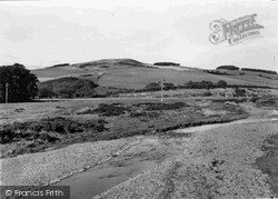 Yetholm, The River Bowmont c.1955, Town Yetholm
